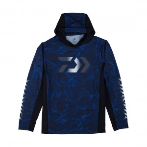 Daiwa Splash LS Hooded Fishing Jersey