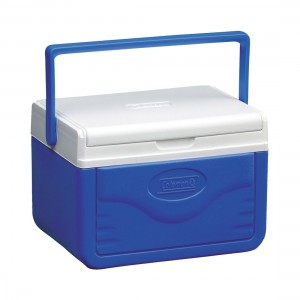 Coleman Cooler Take 6 Personal Polylite (Blue)