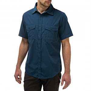 Craghoppers Mens Kiwi Short Sleeve Shirt