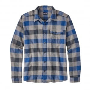 Patagonia Mens L/S LW Fjord Flannel Shirt