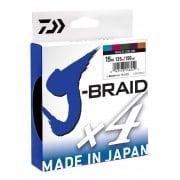 Daiwa J-Braid x4 - 330yd Multi Coloured