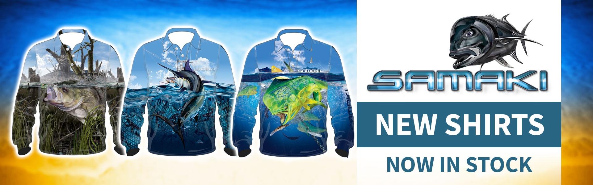 Samaki New Shirts