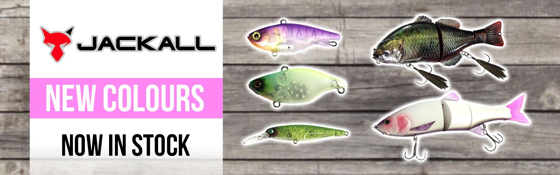New Jackall Colours