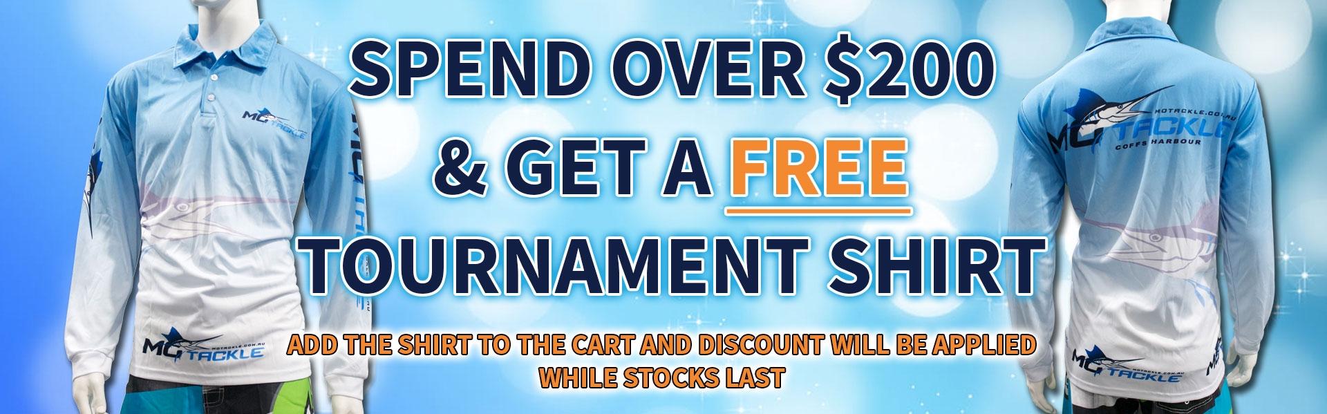 $200 Tournament Shirt Deal