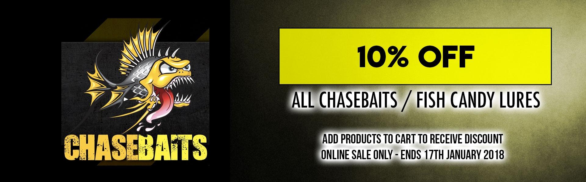10% off Chasebaits