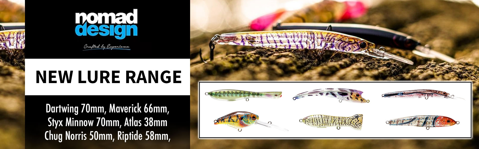 New Nomad Lures