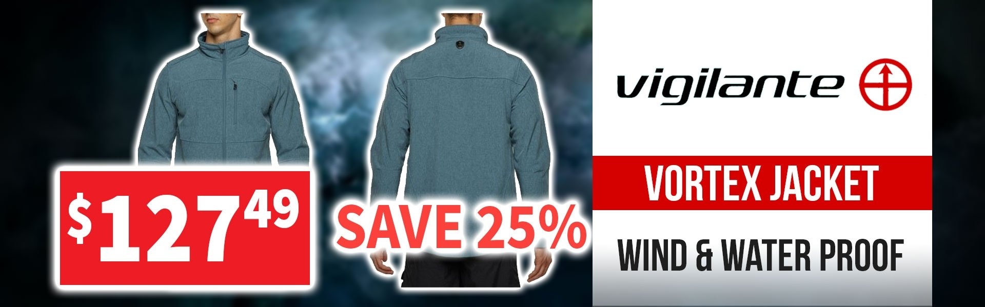 Vigilante Vortex Jacket 25% off